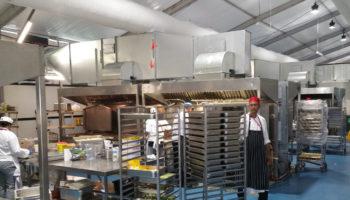 PKL Commonwealth Games 2018 kitchen