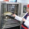 Houno combi oven at Tesco Calne, Wiltshire
