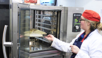 Houno combi oven at Tesco Calne, Wiltshire