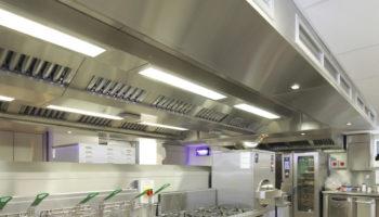 University of Liverpool kitchen