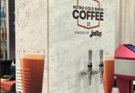 JoeTap nitro coffee dispenser