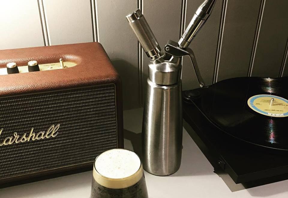 Hatfields London NitroPress coffee dispenser