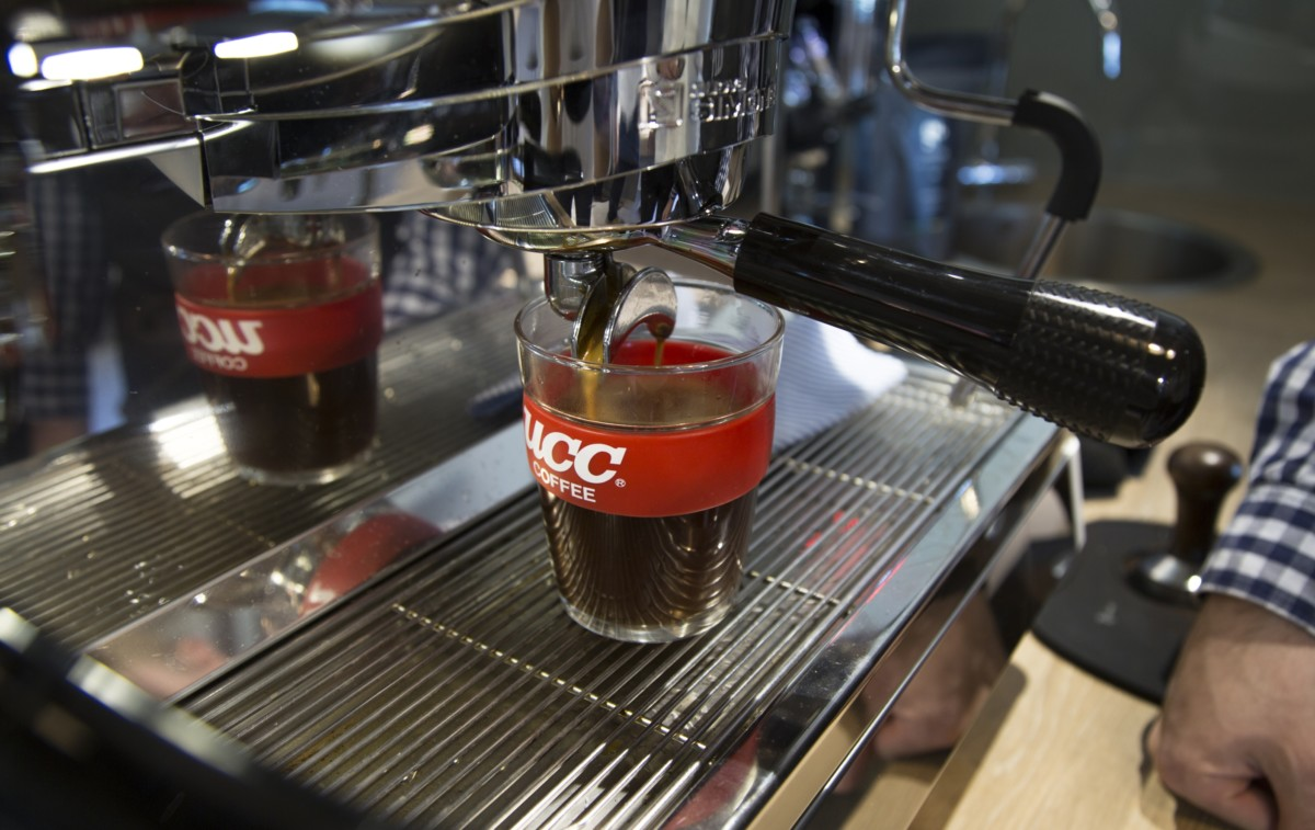 UCC coffee machine