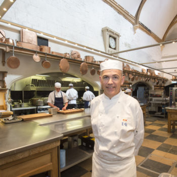 Mark Flanagan, head chef, Royal Kitchen, Windsor Castle 1