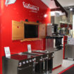 Valentine Equipment stand at Hotelympia 2018