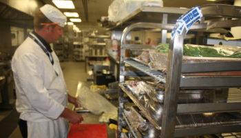 Wembley Stadium kitchen