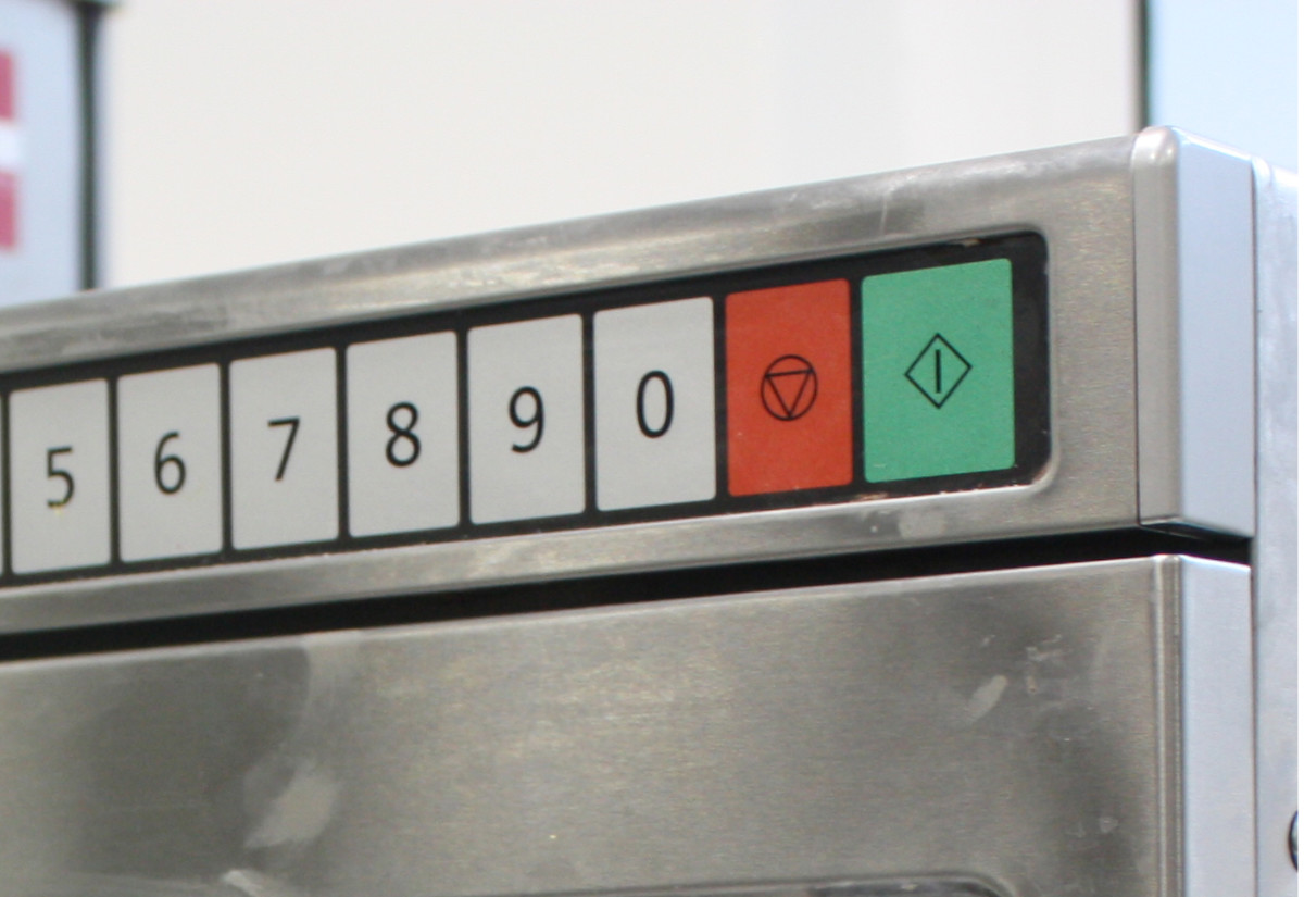 Panasonic control panel