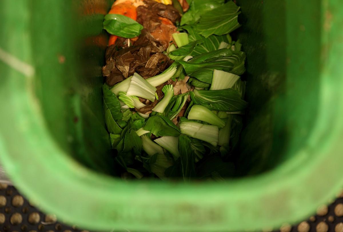Food waste greens
