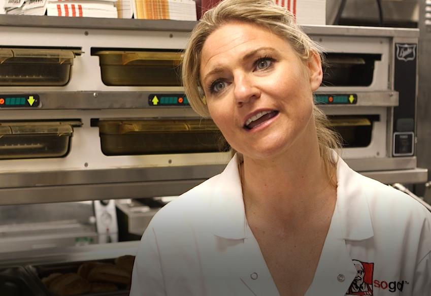 Victoria Robertson, head of food innovation