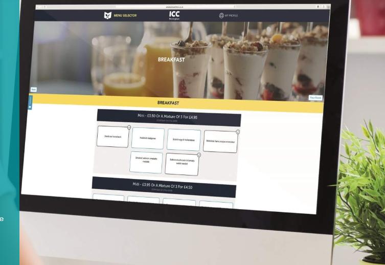 Amadeus menu selector