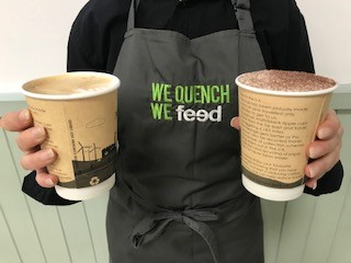 Sustainable disposable coffee cups