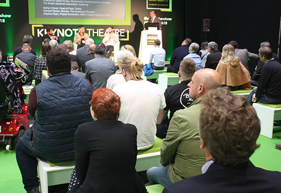 Panel session at Commercial Kitchen 2018