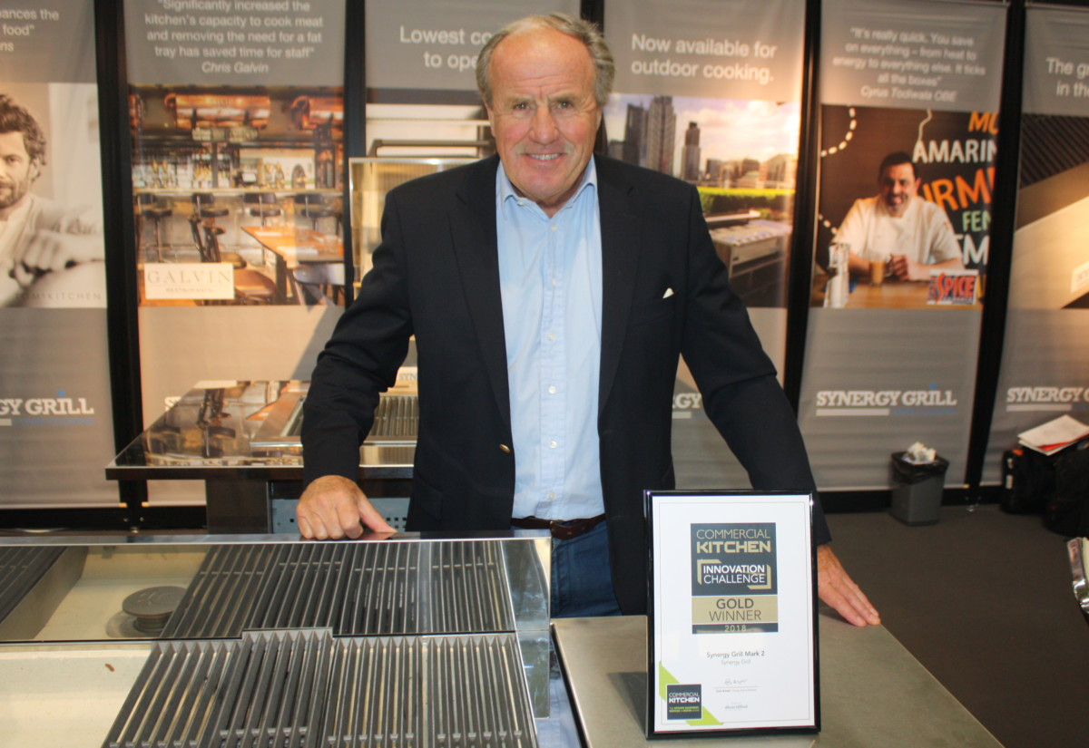Justin Cadbury, CEO and chairman, Synergy Grill