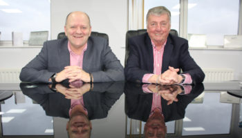 Malcolm Skinner, operations director and Bob Clifford, managing director