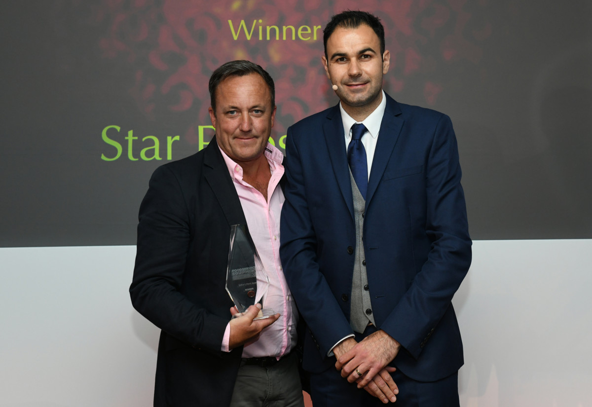Mark Teed, Star Pubs & Bars and Andrew Seymour, FEJ