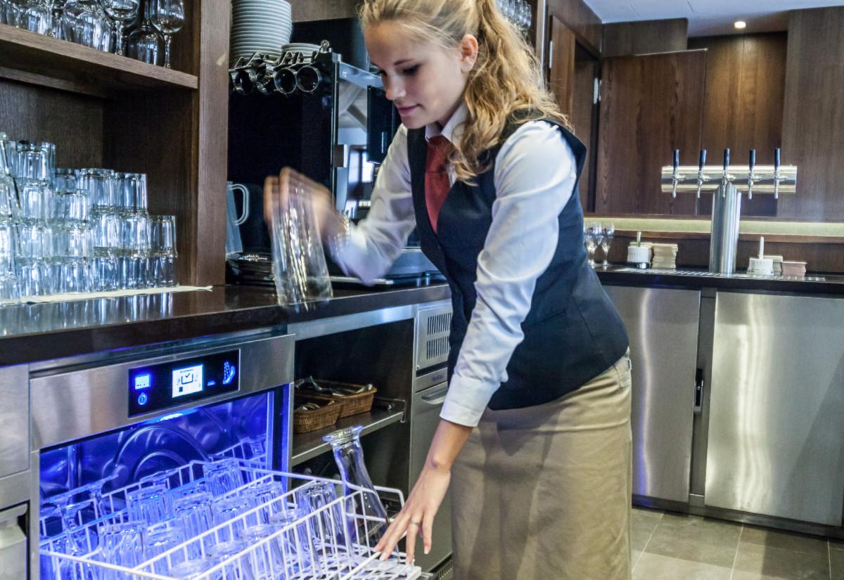 Meiko M-iClean dishwasher