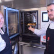Stacey Locke, chef consultant, and Baron chef Alessandro Tison