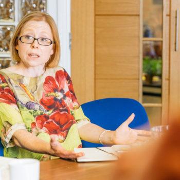Alice Woodwark, managing director, Restaurant Associates at IMC roundtable