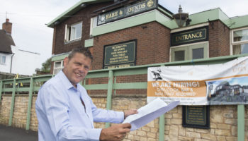 Dean Price, general manager, Hare & Hounds, Bolton Inns