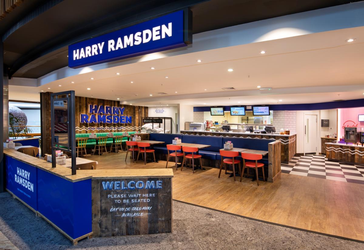 Harry Ramsden restaurant