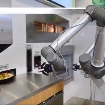 Ekim pizzaiolo robot