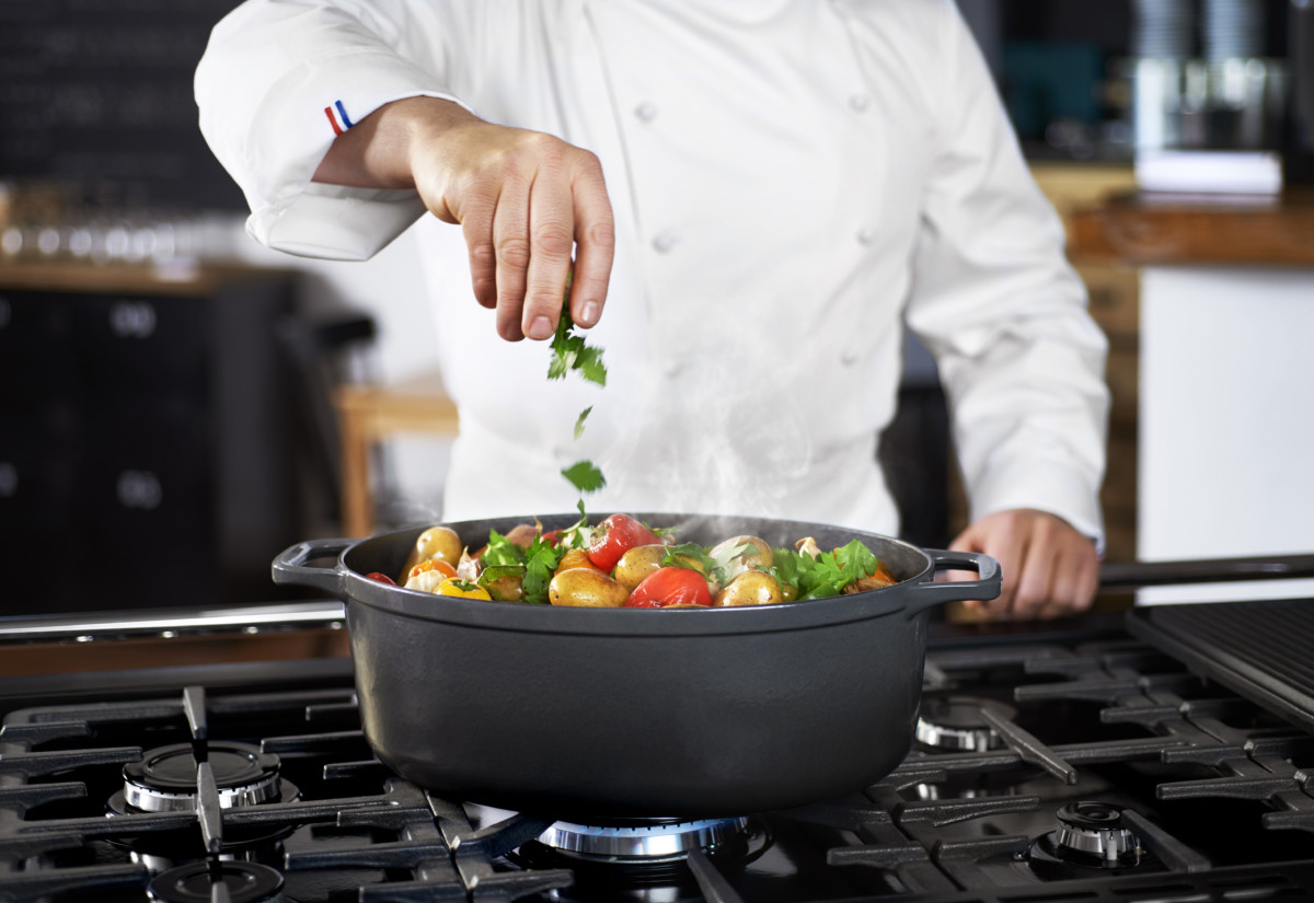 Chasseur cast-iron cookware