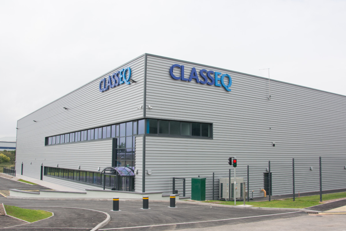 Classeq factory, Staffordshire
