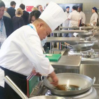 Crawley College training kitchen