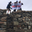Rational Three Peaks team at Scafell Pike