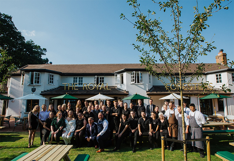 The Royal Foresters, Ascot
