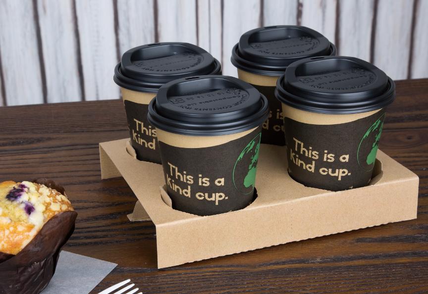 Fiesta Green disposable cups