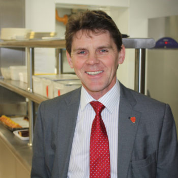Ian Clow, sales director