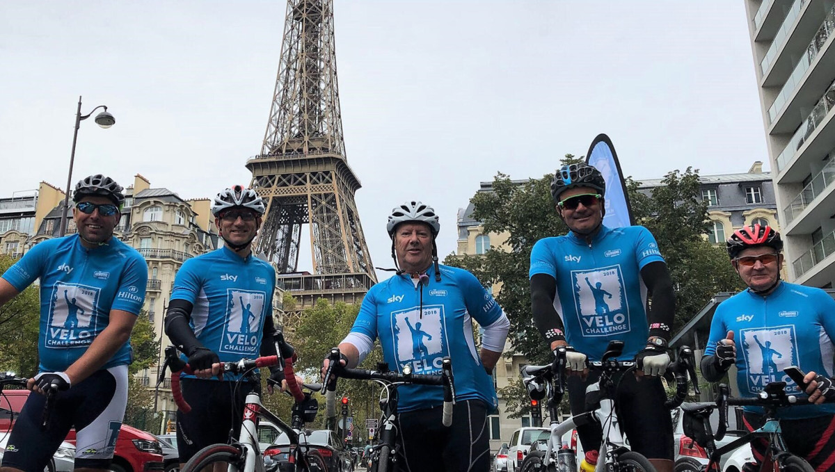 Team Velo cycling challenge 2018