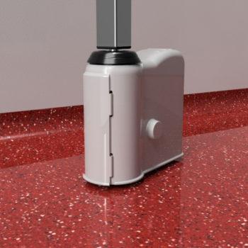 Silicone Hygiene castor wheel cover 1