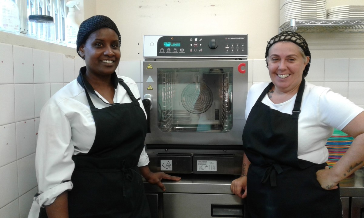 Cyril Jackson School in Tower Hamlets with Convorthem mini combi oven