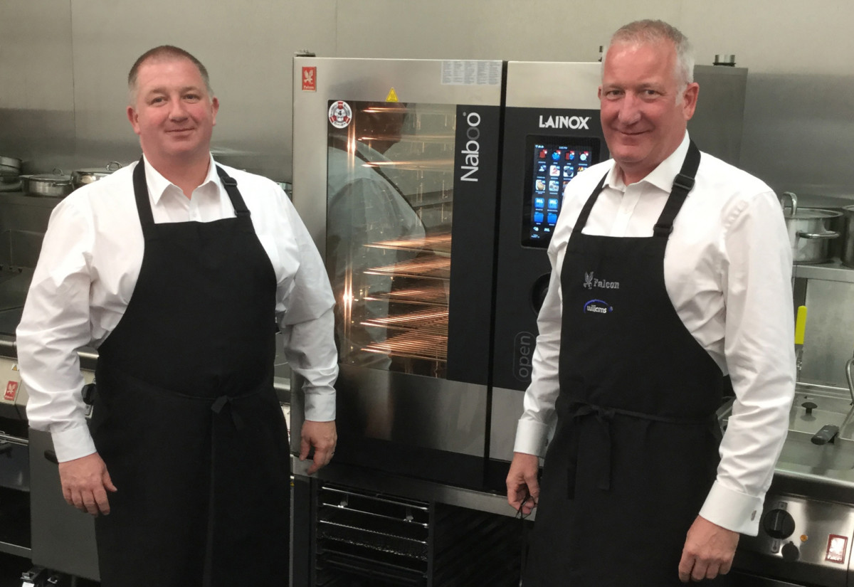 Steve Hannon, area sales manager North East & Yorkshire and Ian Brealey, area sales manager