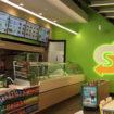 Subway store with Fresh Forward branding