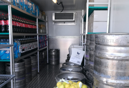 Coldtraila food and drink storage