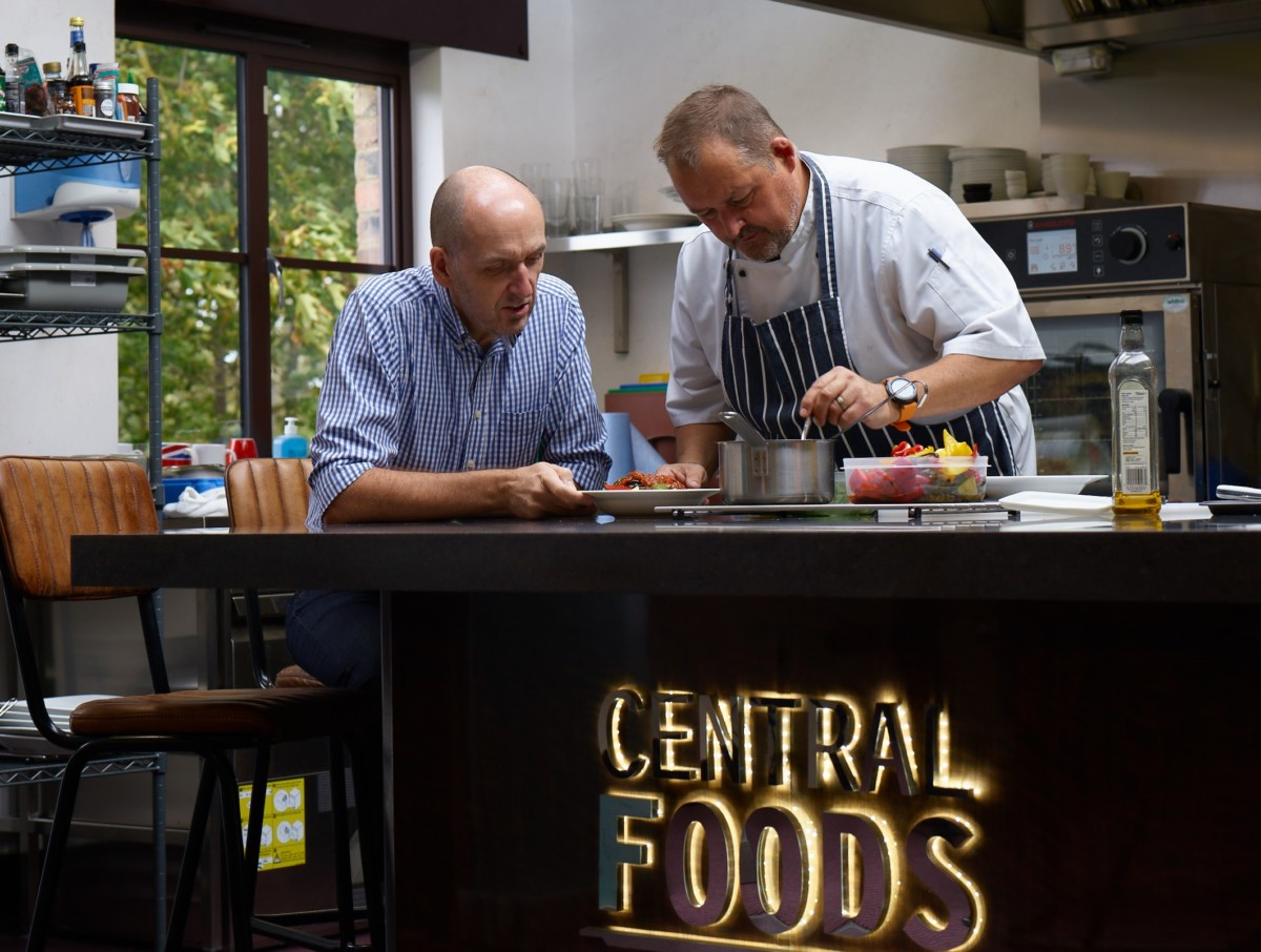 Gordon Lauder, managing director and Paul Hunt, executive chef