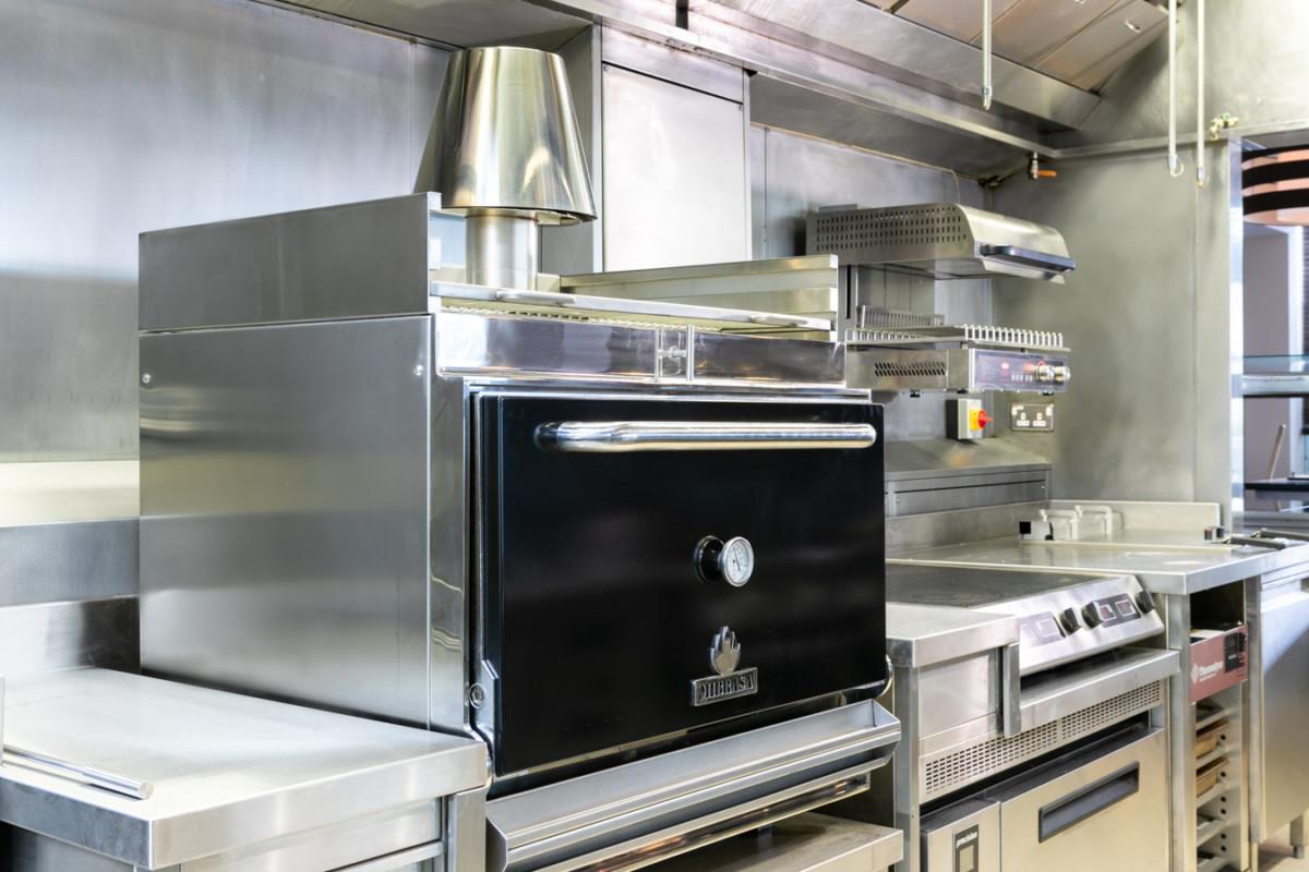 Mibrasa oven at Sopwell House brasserie 1