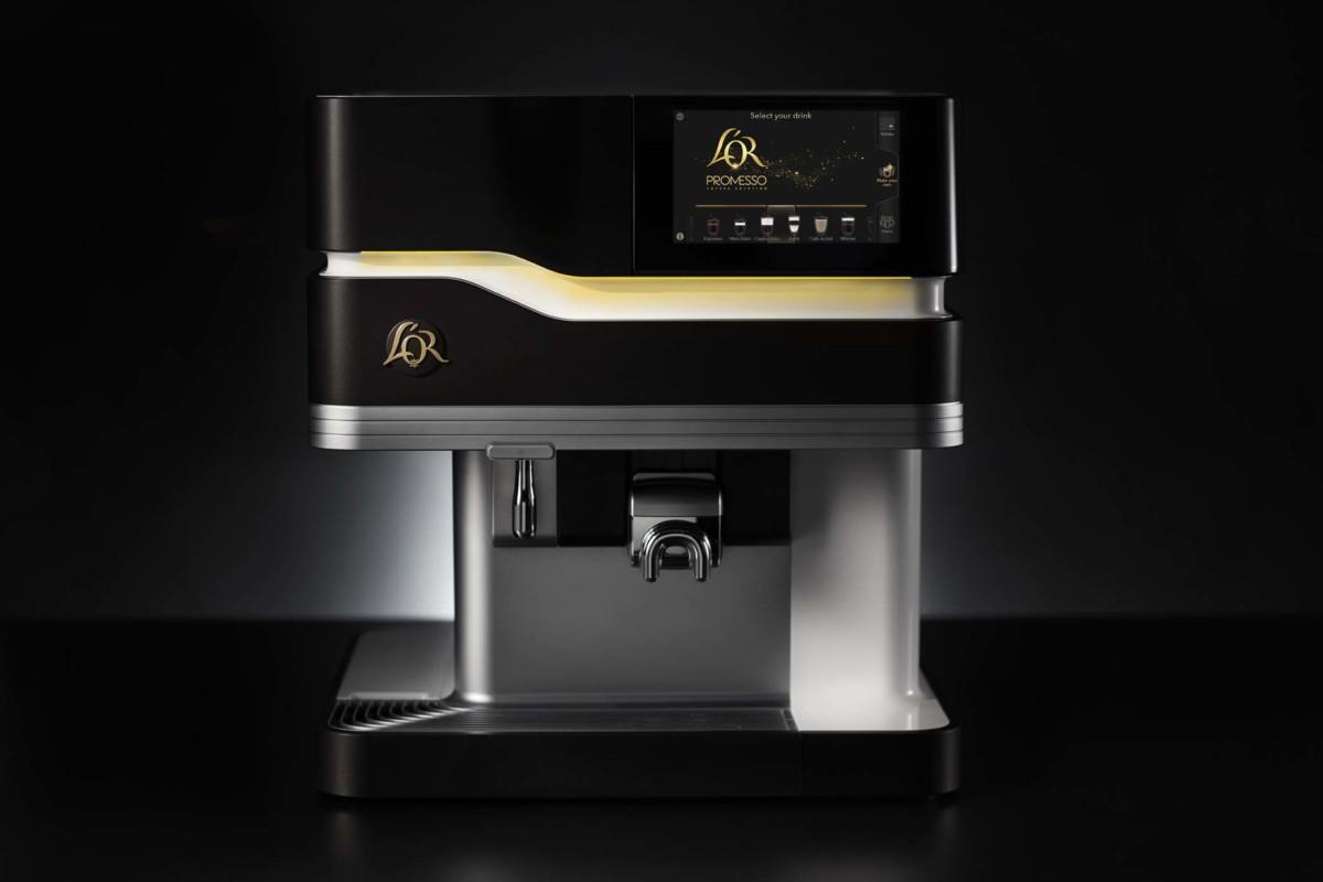 L'Or Promesso machine front