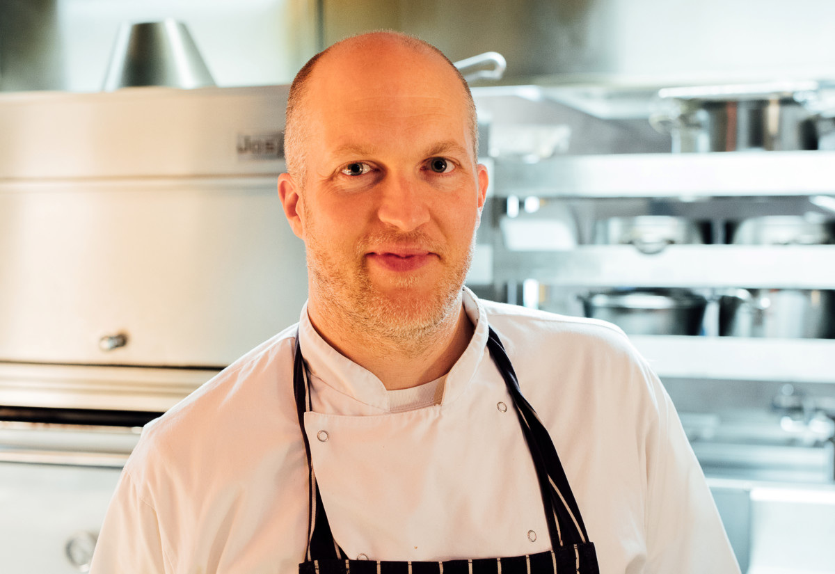 Ross Pike, chef director