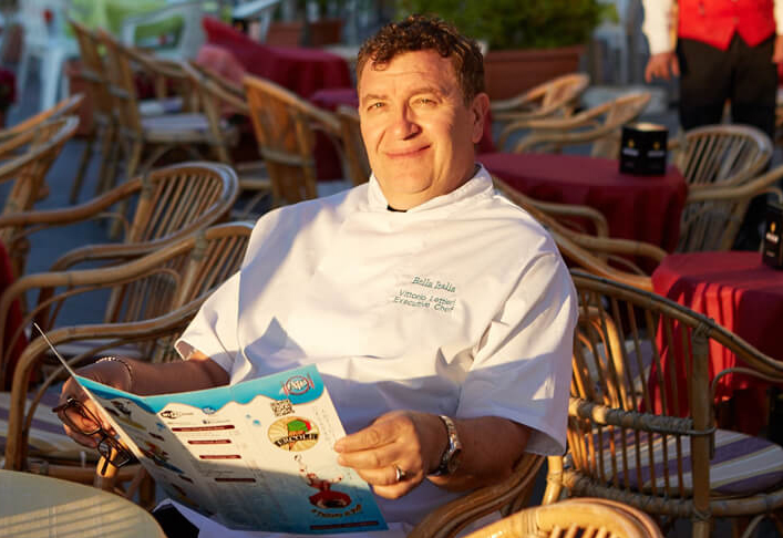 Vittorio Lettieri, executive chef