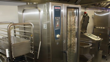 Rational development kitchen at UK head office in Luton