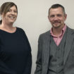 Kate Aston, sales consultant and Jeremy Bailey, sales executive