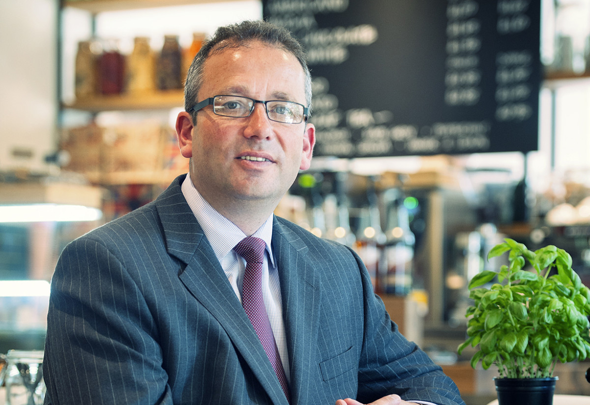 Mack Allan, regional managing director, South West and Wales