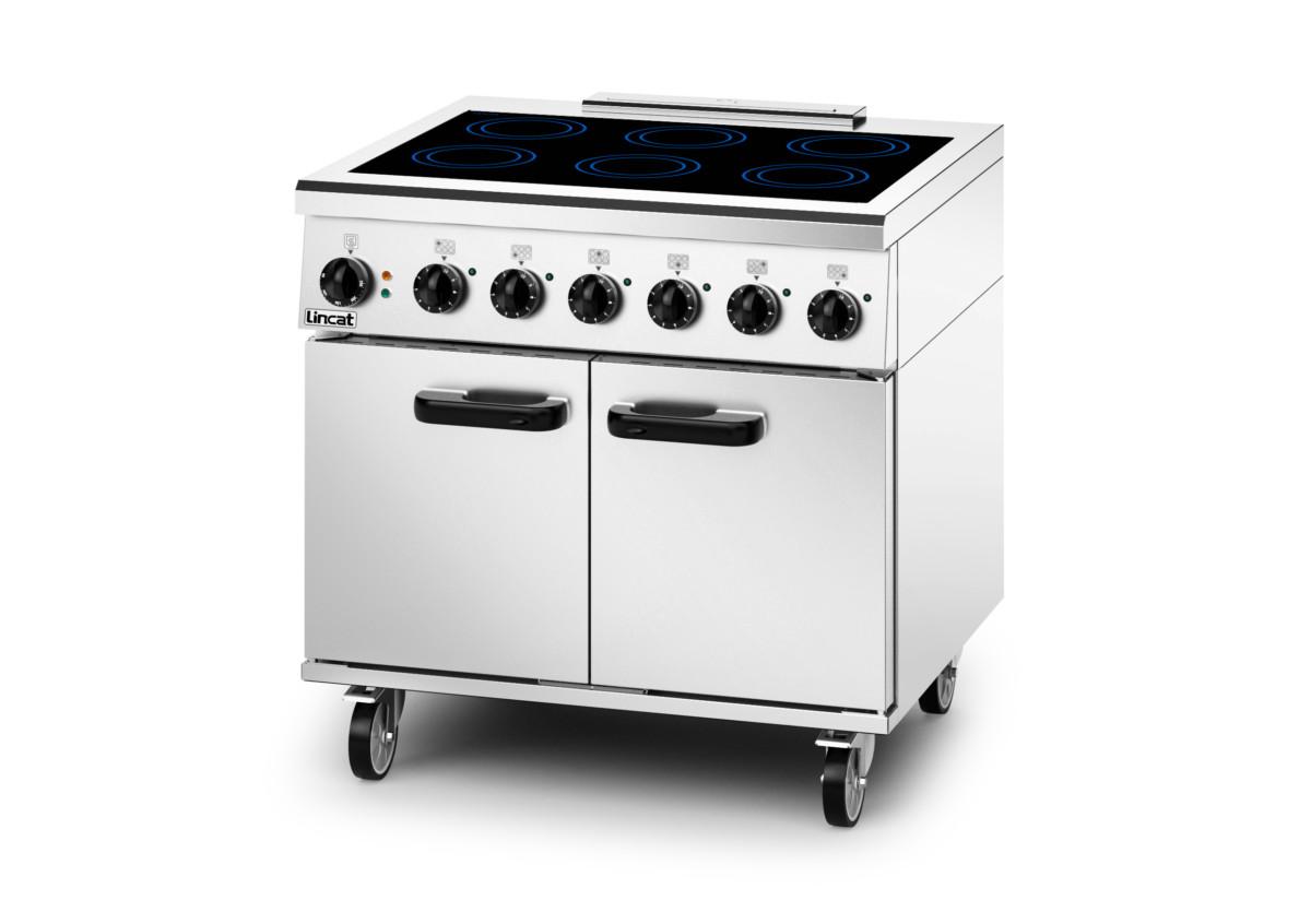 Lincat single-phase induction oven range
