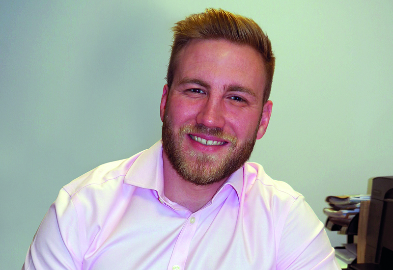 Lewis Beer, business development manager, south of England