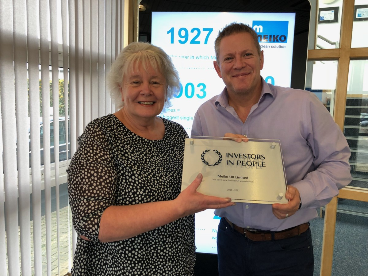 Linda Gallop, HR manager and Paul Anderson, managing director