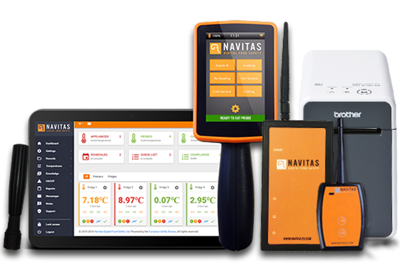 Navitas and Brother food labelling system